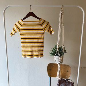 Storets vintage striped sweater top